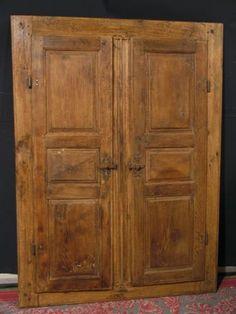 Portes d'armoire XVIIIe siècle