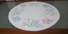 Linen Tablecloth, Plates, Tableware, Handmade, Vintage, Home, Licence Plates, Dishes, Dinnerware