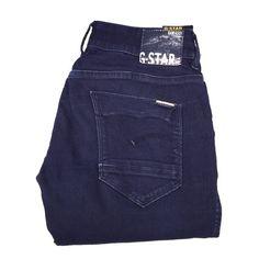 G-Star Raw Women's Skinny Jeans G-Star Raw Women's Stretchy Skinny Jeans Size 30. Dark Blue Comfortable Denim In Very Good Condition! G-Star Jeans Skinny