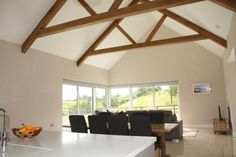 Interior of completed rated house in Mayo