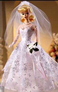 1960 Wedding Day Barbie Reproduction doll