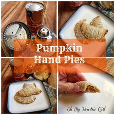 Pumpkin Hand Pies Ma