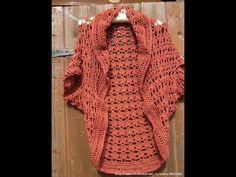 Crochet Patterns| for free |chunky crochet cardigan pattern free| 1284