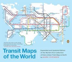 55 best cartography map books images on pinterest cartography this is transit maps of the world expanded and updated edition of the worlds first collection of every urban train map on earth gumiabroncs Image collections