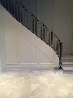 Paint trim same as walls!