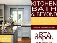 The RTA Depot - Your online source to quality, wholesale cabinetry solutions. Bath And Beyond, Kitchen And Bath, Free Design, Cabinets, Room, Armoires, Bedroom, Fitted Wardrobes, Rooms