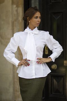 The Great Scot Victorian Blouse