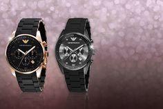 Mens' Emporio Armani Watch - 2 Designs!
