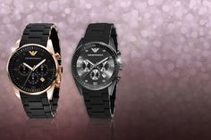 Mens' Emporio Armani Watch - 2 Designs!