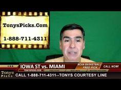 Iowa St Cyclones vs. Miami Hurricanes Pick Prediction College Basketball...