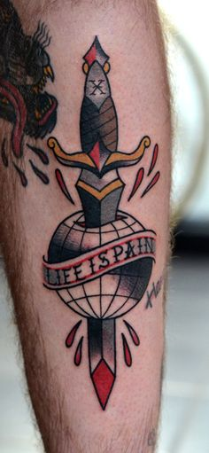 super emo tattoo by Philip Yarnell