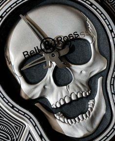 Bell & Ross BR01 Burning Skull 'Tattoo' Watch Hands-On - by Ariel Adams…