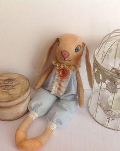 Stuffed animal Rabbit-Child friendly-Easter от NatashaArtDolls