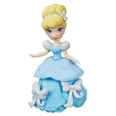 Disney Princess Little Kingdom Classic Cinderella. Doll comes with 3 Snap-ins. Doll is 3 inches tall and can sit or stand. Mix & match Snap-ins to customize unique looks. Includes doll, bodice, peplum, skirt, and 3 Snap-ins. Cinderella Toys, Cinderella Outfit, Disney Princess Ages, Aladdin Princess, Princess Aurora, Princess Party, Cartoon Network Adventure Time, Adventure Time Anime, Toys R Us
