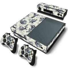 Love this!  http://www.hellodefiance.com/products/artic-camo-skin-xbox-one-protector?utm_campaign=social_autopilot&utm_source=pin&utm_medium=pin