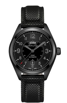 Khaki Field Day Date Auto Full Black