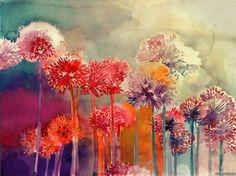 New in the Shop: Dreamy Watercolor Paintings by Maja Wrońska - My Modern Met