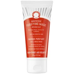 Skin Rescue Purifying Mask With Red Clay - First Aid Beauty