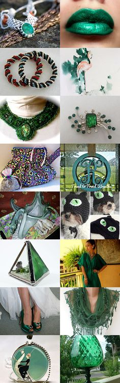 Green With Envy Over These by Betty S. on Etsy--Pinned with TreasuryPin.com #greengiftguide