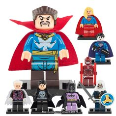 4.18$  Buy here - http://alitjc.shopchina.info/go.php?t=32789058889 - Marvel Super heros Supergirl Punisher Doctor Strange Building Blocks Bricks Toy for boy Compatible with legoeINGlys 164171  #aliexpresschina