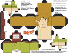 Raggy...lol! SD1: Shaggy Rogers Cubee by TheFlyingDachshund.deviantart.com on @deviantART