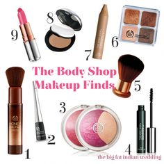 Essential Makeup from The Body Shop