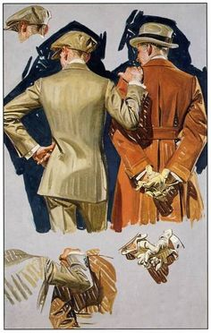 Men, Joseph C leyendecker