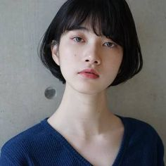 Modern Bob Hairstyles For Women, looking for neat looks is far more important than just a pretty face or the latest 2019 haircut! Girl Short Hair, Short Hair Cuts, Korean Short Hair Bob, Short Hairstyles For Women, Hairstyles Haircuts, Cut My Hair, Her Hair, Shot Hair Styles, Long Hair Styles