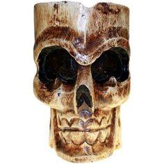Ashtray Single Skull