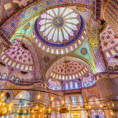 Hagia Sofia, den bysantinska arkitekturens viktigaste byggnad i Turkiet.