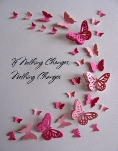 Items similar to Inspirational Butterfly Art / As Shown or Your Colors & Short Quote / Recovery, Sober, Clean Living/ Made to Order on Etsy Butterfly Quotes, Butterfly Wall Art, Paper Butterflies, Butterfly Crafts, Paper Flowers, Fun Crafts, Crafts For Kids, Arts And Crafts, Cardboard Crafts