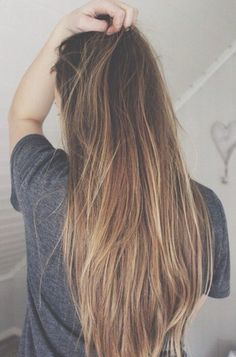 Ombre for light brown hair More