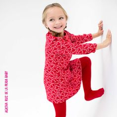 Vestido estampado para nuestras princesas! #AgathaBaby