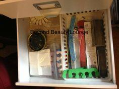 DIY Nail Polish Desk/Table with Michael's Melmer - Beyond Beauty Lounge