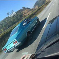 #mulpix Pé na estrada! Contribuição @magro4100  #gm  #chevrolet  #opala  #opalaterapia  #caravan  #musclecar  #oldcar