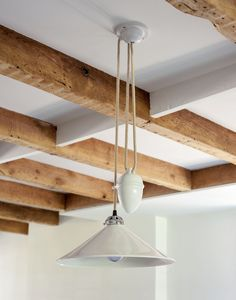 Cobb Rise & Fall Bone China Pendants: Remodelista