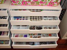 CRAFTY STORAGE: Craft Storage Most Popular | Alex - from IKEA - the most used craft storage unit?