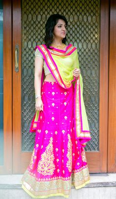 WeddingSutra Editor's Blog » Blog Archive » With WeddingSutra on Location- Vivechna and Chandni Nihalani