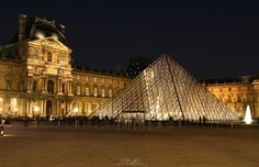 Parisienne Nights - Louvre museum by Vitali Gil on 500px