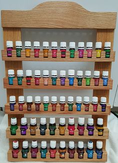 Essential Oil Display / Storage Shelf by Xulone on Etsy