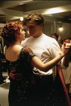 Nothing On Earth Could Come Between Them. Titanic. Leonardo DiCaprio and Kate Winslet
