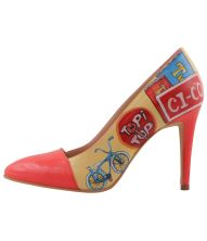 Retro Electro Stepper, Painted Shoes, Hot, Stiletto Heels, Footwear, Pumps, Retro, Fashion, Moda