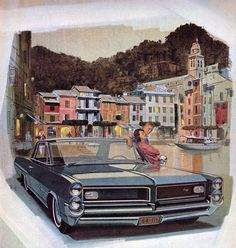 1964 Pontiac Grand Prix - 'Portofino': Art Fitzpatrick and Van Kaufman