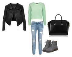 """""""Bez naslova #4"""" by irnyhaly ❤ liked on Polyvore featuring Pilot, Current/Elliott, Linea Pelle and Givenchy"""