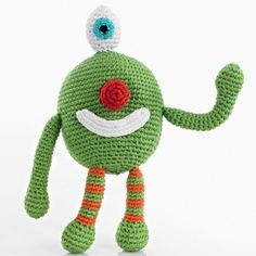 Cheeky Monster Crochet Toy