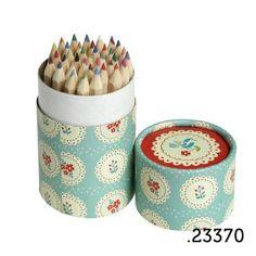 .23370 _ 36 lápis de cor doily | 36 pencil tube doily (altura|height 10cm) _ ♥ 5.00  www.atelierdatufi.com | info@atelierdatufi.com