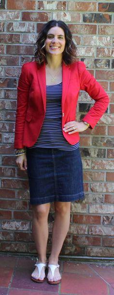 Blue, Red & Stripes