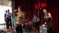 "Boy George and Black Lips cover T. Rex's ""Bang A Gong (Get it On)"" Live at WXPN on Vimeo"