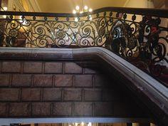 Barandilla de la gran escalera