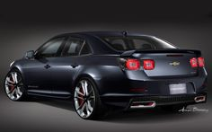 chevrolet malibu 2014 | 2013 Chevrolet Malibu Turbo Performance Concept For SEMA Rear View ...